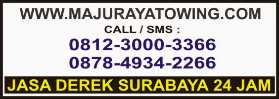 MAJU RAYA 0812-3000-3366 jasa rental towing mobil surabaya, jakarta, denpasar bali