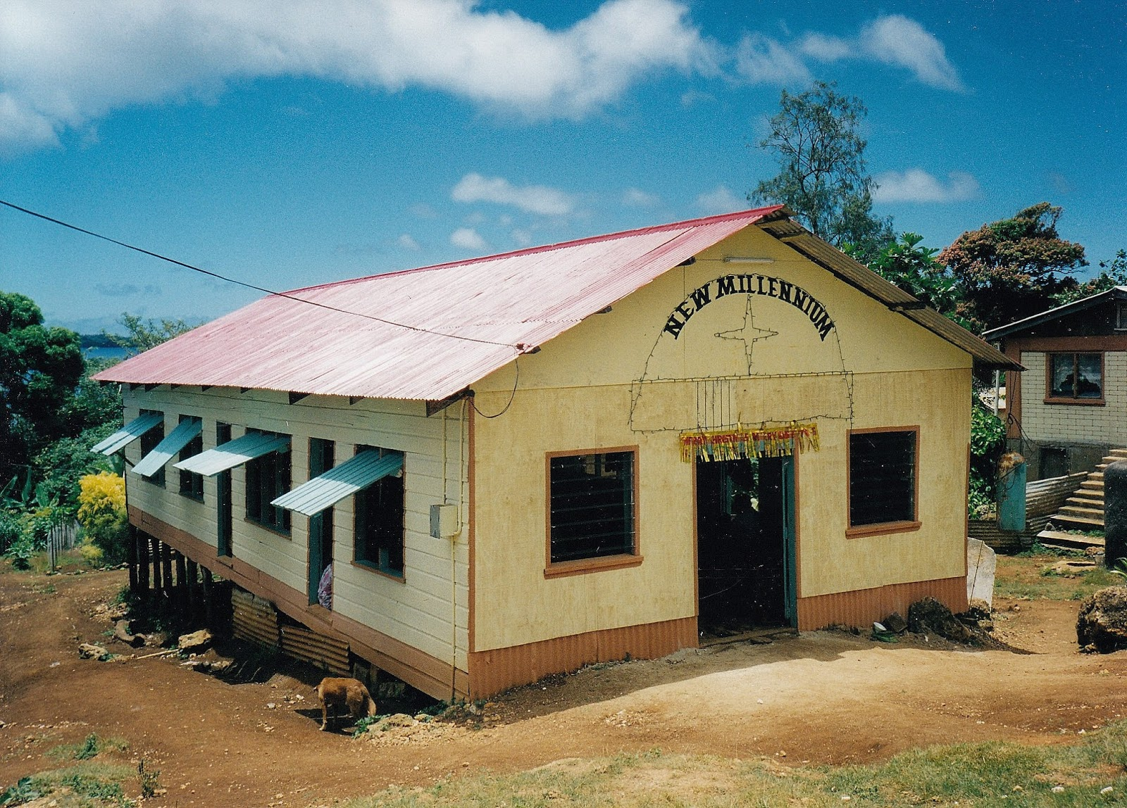 Tonga has churches great and small