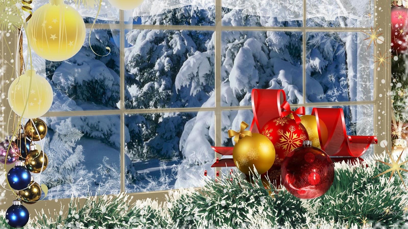 57 Christmas Winter Scenes Wallpaper