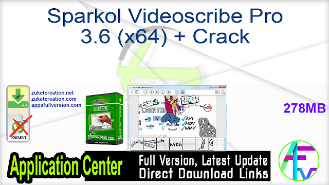 Sparkol Videoscribe Pro 3.6 (x64) + Crack