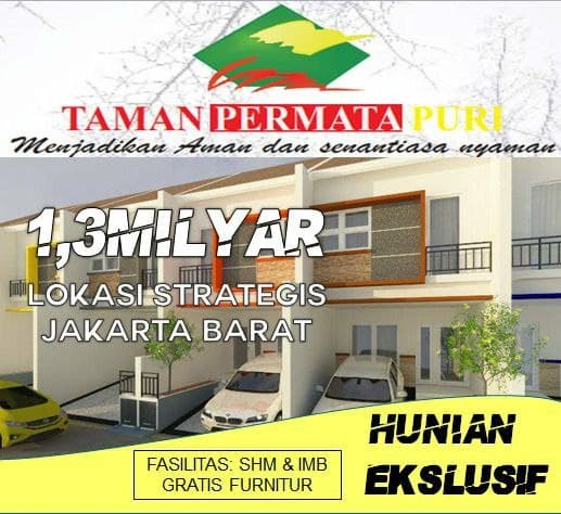 Taman Permata Puri Perumahan Syariah di Rawa Buaya ...