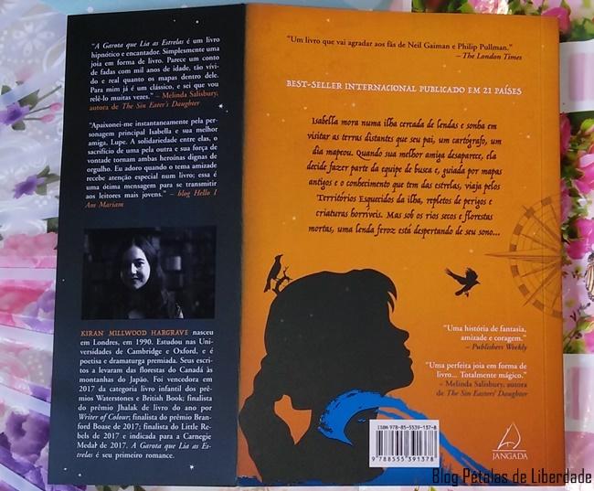 sinopse, livro, A-Garota-que-Lia-as-Estrelas, Kiran-Millwood-Hargrave