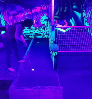Crazy Golf at Roxy Ball Room in Manchester