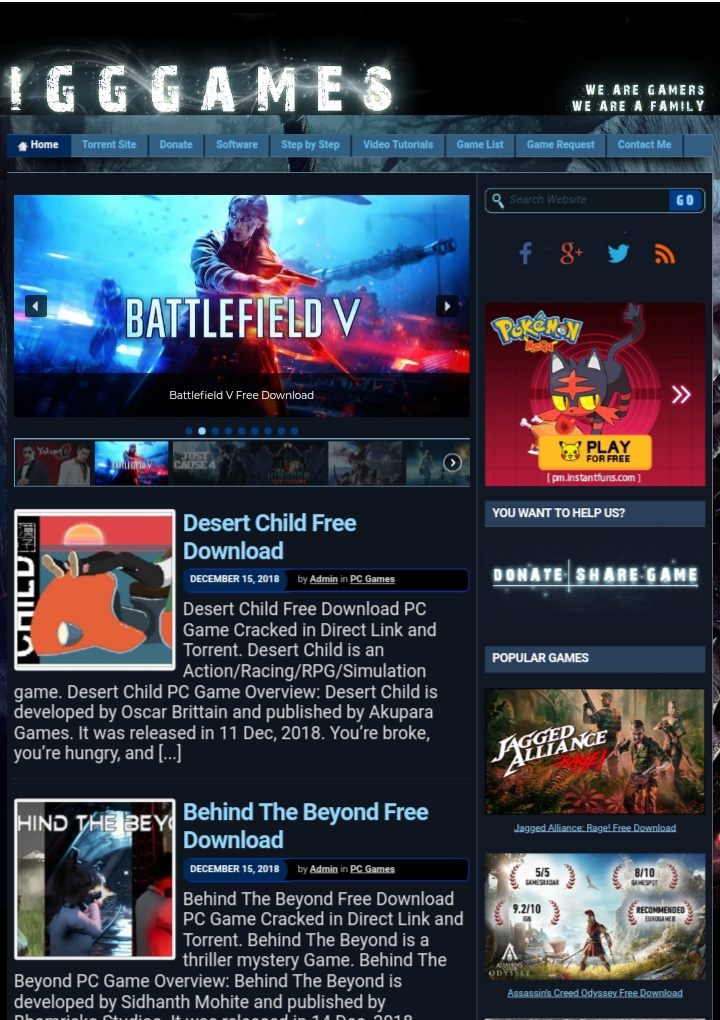 Top website to download PC games ~ MDSOLUTION