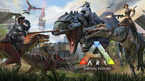Free Download ARK Survival Evolved Mobile Mod Apk Android  ARK Survival Evolved Mod Apk v1.1.12 (Unlimited Amber)