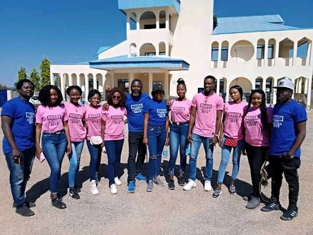 "Team (MBGSK) Takes Contestants On a Special Visit to ""Agwatyap's"" Palace in Zango Kataf LG"