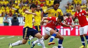التعادل السلبي بدون اهداف ينهي مواحهة كولومبيا وتشيلي في المباراة الودية