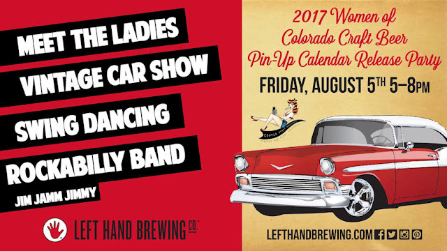 2017 Women of Colorado Craft Beer Pin-Up Calendar