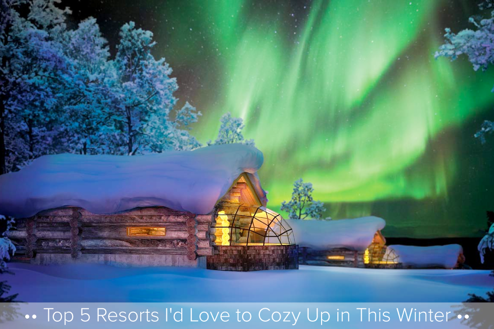 Top 5 Cabins I'd Love to Cozy Up in This Winter