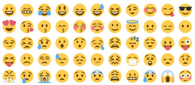 Wordpress ve Blogger için Renkli Twitter Emojileri