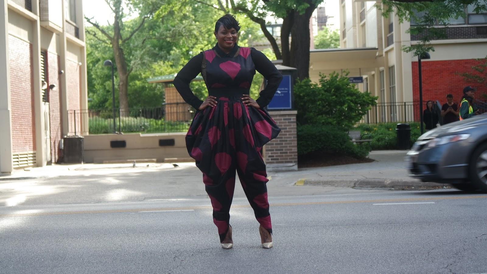 African jumpsuit
