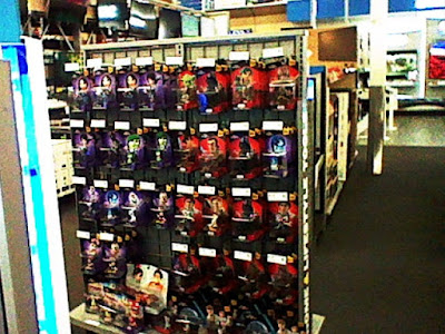 Best Buy Disney Infinity shelf Wreck-It Ralph