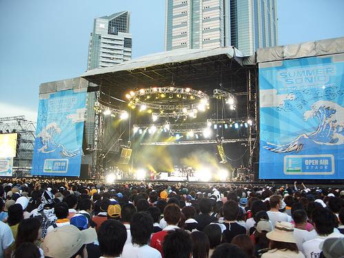 Summer Sonic (music festival), Tokyo & Osaka