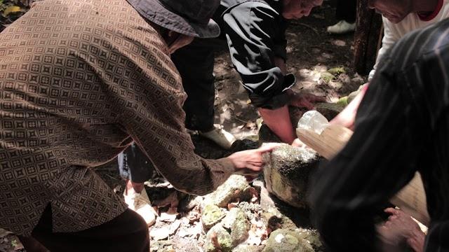 Berlangsung Khidmad, Bersih Gunung Batur Watu Suweng Di Purwodadi Tepus