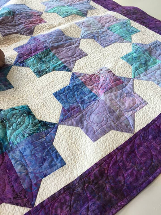 Double Square Star Quilt Free Tutorial