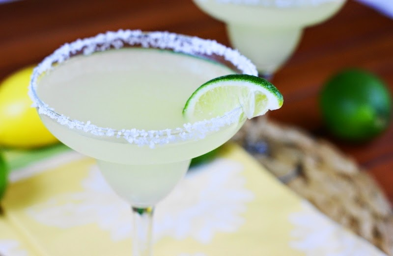 Emeril's Fresh & Fierce Margarita {with Homemade Citrus Syrup / Margarita Mix}
