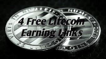 4 Free Litecoin Earning Links