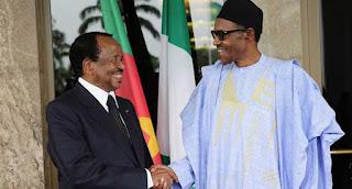 Muhammadu Buhari and Paul Biya