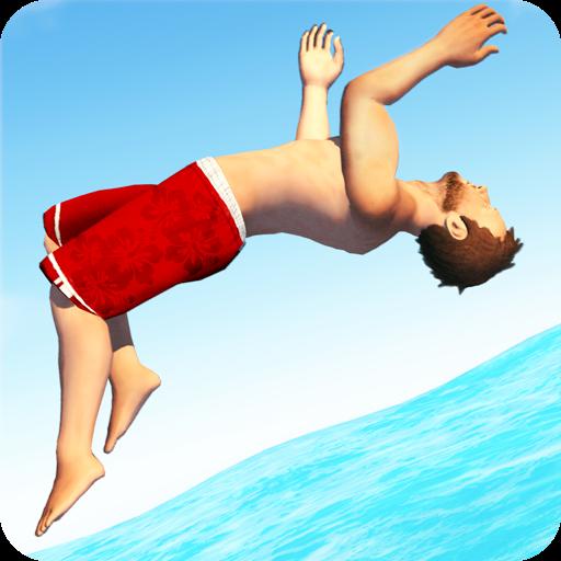 تحميل لعبه Flip Diving مهكره اخر اصدار