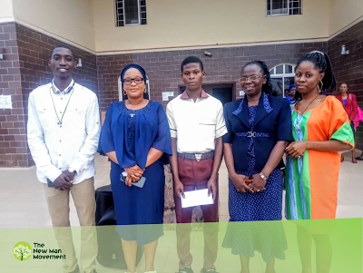 New Man Movement awards cash prizes to Adeniran Adeleke, Oduduwa College, Ile-Ife