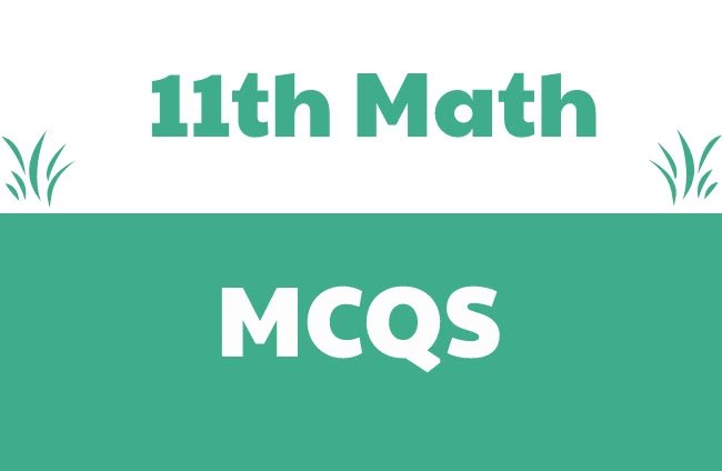 1st year Math MCQS Pdf Download-11th Class
