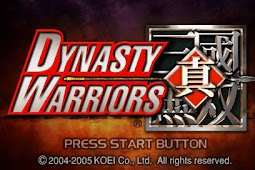 Dynasty Warriors [141 MB] PSP