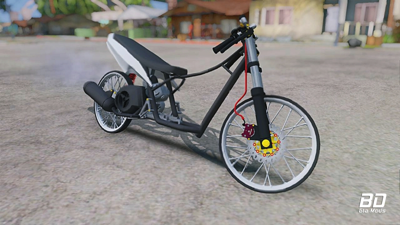 Download mod bike Mio Drag KPK Edit - GTA San Andreas