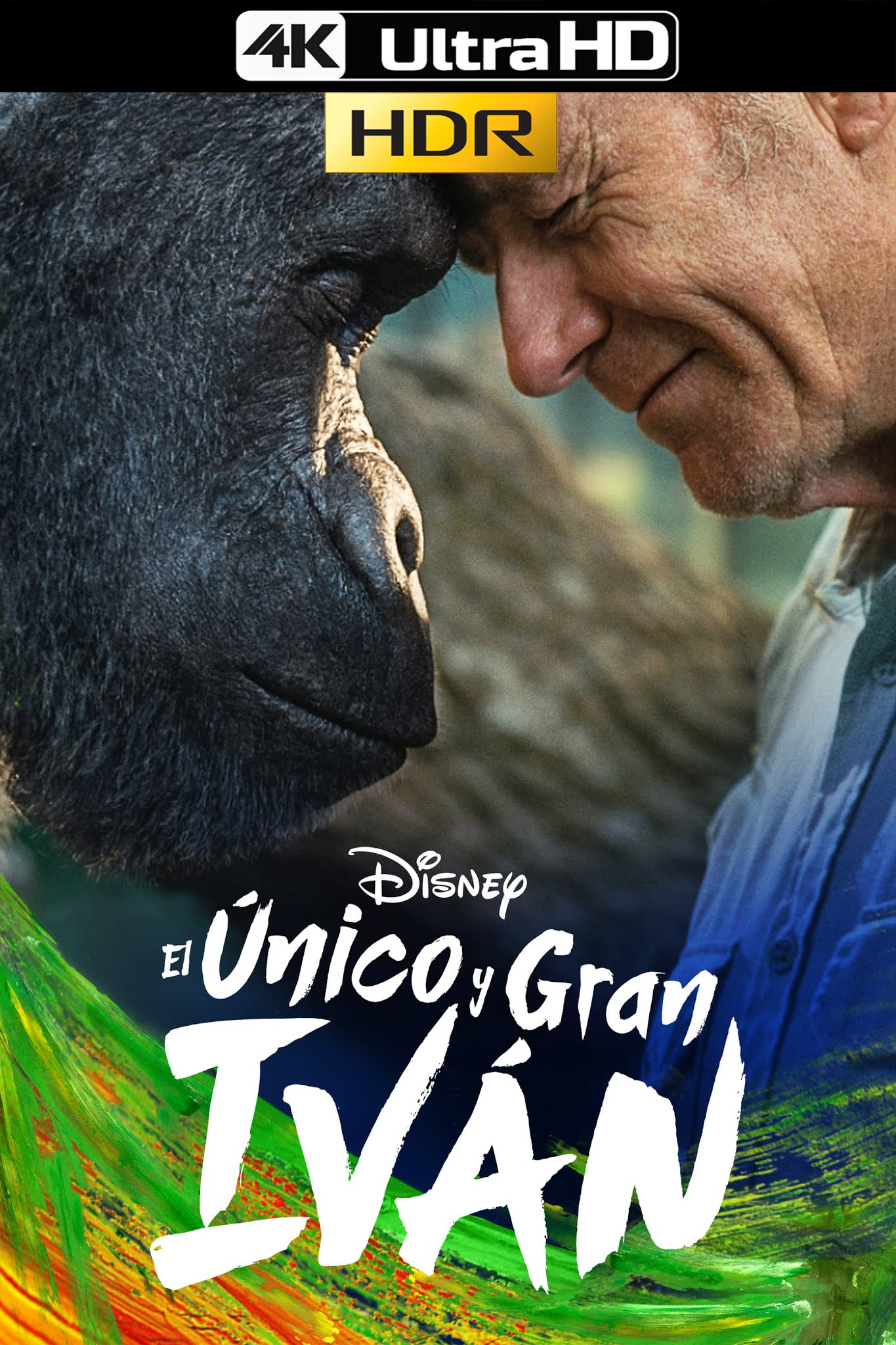 The One and Only Ivan (2020) WEB-DL 4K-HDR 2160p Latino