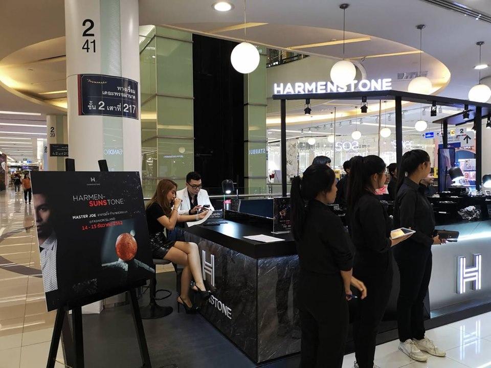 งานเปิดตัวหินซันสโตน (Sunstone) แบรนด์ HARMENSTONE ณ ร้าน Harmenstone สาขา Fashion Island