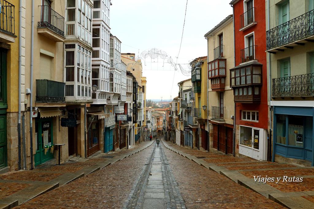 Calle Balborraz, Zamora