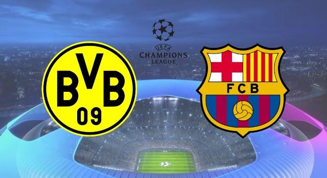 Assistir Barcelona x Borussia Dortmund Ao Vivo Online