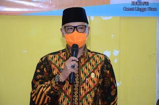 Pjs Bupati Lingga Juramadi Esram Himbau Kepada seluruh ASN di Kabupaten Lingga Agar menjaga Netralitas pilkada di tahun 2020,