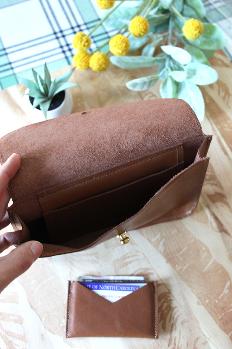 Leather Belt Bag // Kelly Waist Bag Sewing Pattern Review