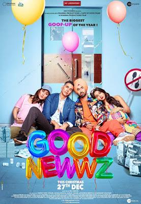 Good Newwz 2019 [Hindi DD5.1] 720p HDRip ESubs Download