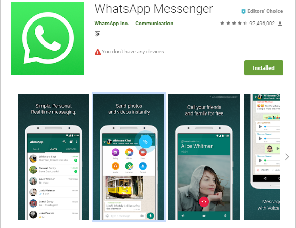Buka Whatsapp di PC Tanpa Scan QRCode