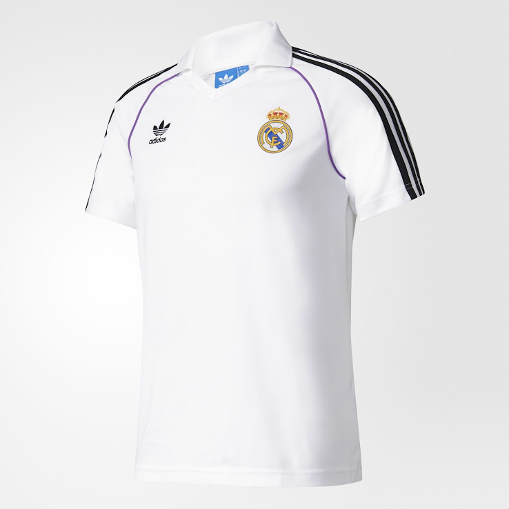 detailed pictures d000d cd6fe Adidas Originals Real Madrid 2017 Collection Leaked - Footy ...