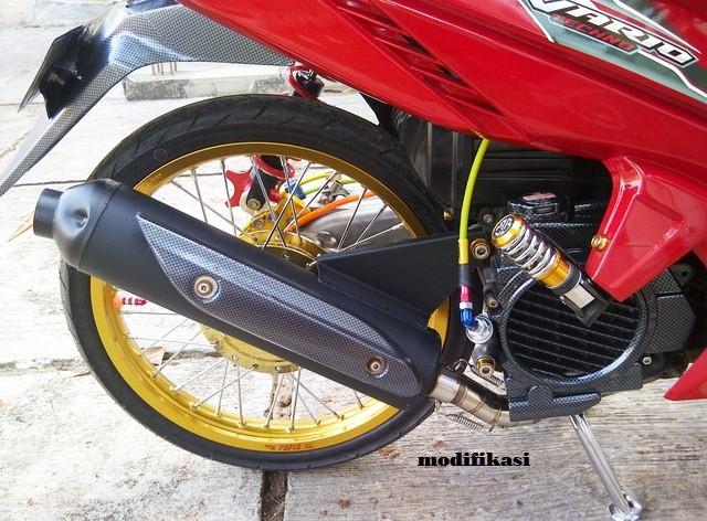 Judul Gambar Modifikasi Motor Honda Vario 110 Terbaru