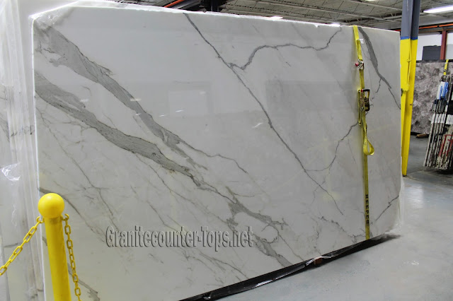 Calacatta Gold Select White Marble Slab
