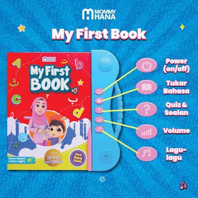My First Book dan Audio Islamic MommyHana Untuk Si Kecil