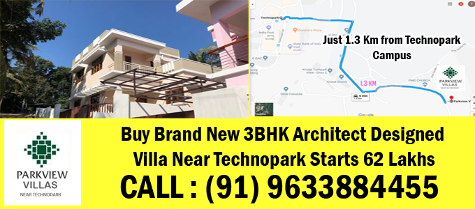 villas near technopark trivandrum