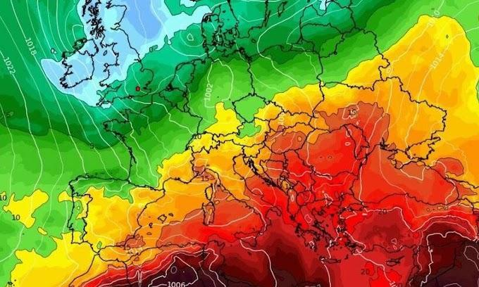 Καιρός Αγίου Πνεύματος: Προ των πυλών η δεύτερη φετινή θερμή εισβολή! Καρέ - καρέ το κύμα ζέστης...