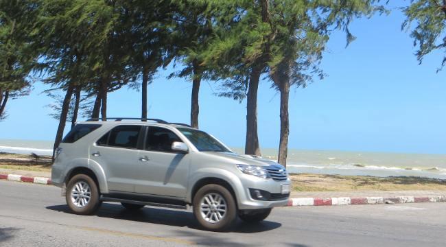 Toyota Fortuner в Таиланде