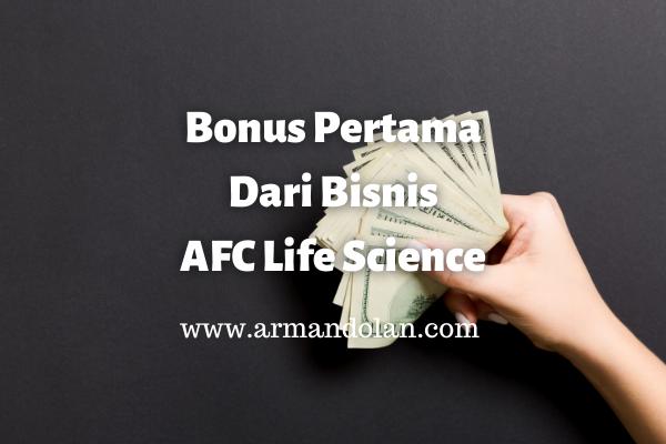 bonus pertama dari afc lifescience