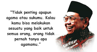Ucapan kemerdekaan Presiden Abdurrahman Wahid atau Gus Dur