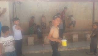 Akibat Ulah Syiah, Musim Panas 40.000 Pengungsi Suriah Meninggalkan Tenda di Kamp Sulaiman Shah