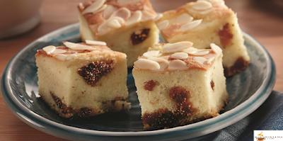 كعكة بالتين واللوز