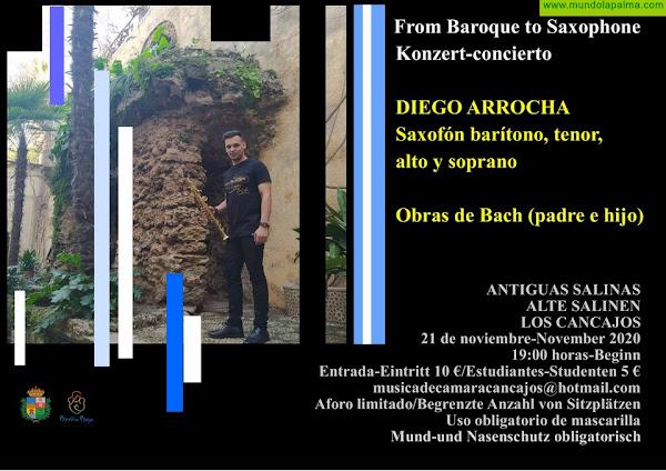 "SALINAS: ""From Baroque to Saxophone"", este SÁBADO 21"