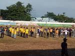 Pembukaan Turnamen Pertandingan Sepak Bola ASKAB Morowali