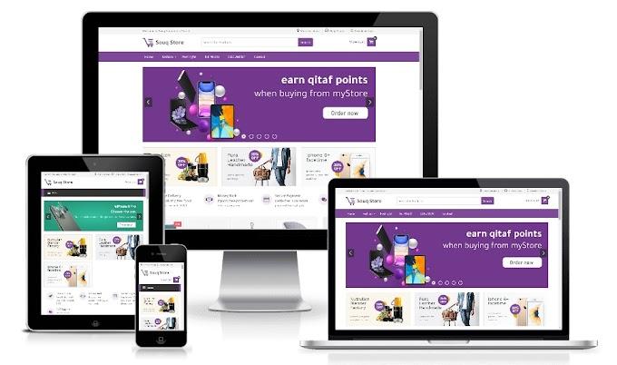 Free Souq Store Premium Ecommerce Blogger Template