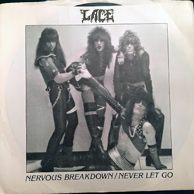 Lace 45rpm record... Nervous Breakdown / Never Let Go